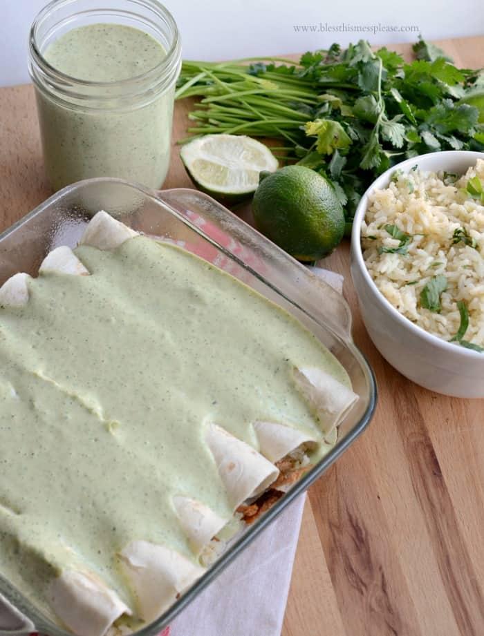 Chicken Ranch Burritos Recipe