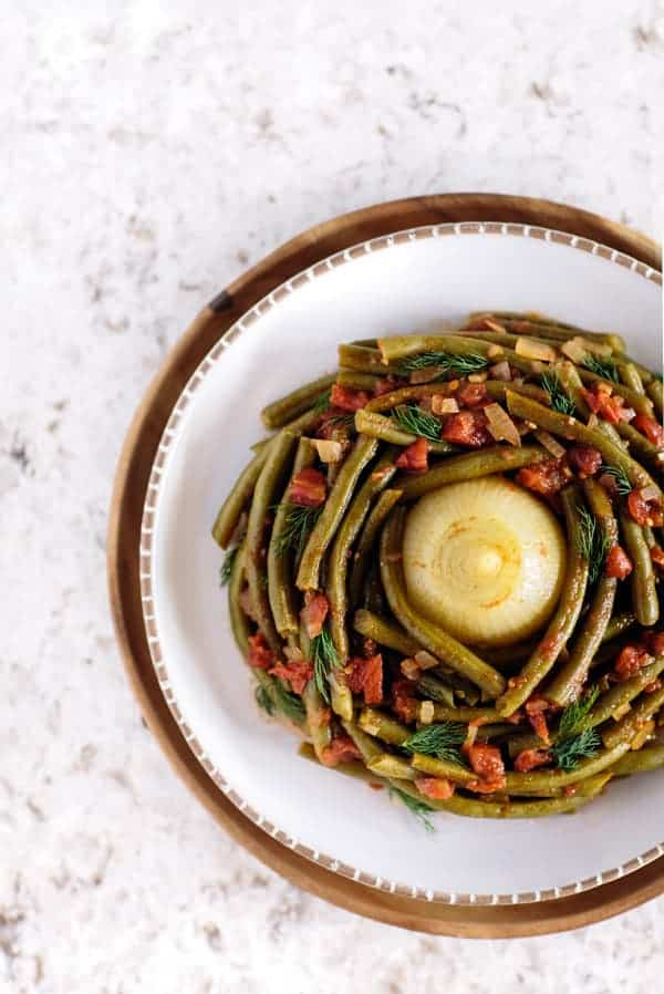 Image of Mediterranean-Style Green Beans