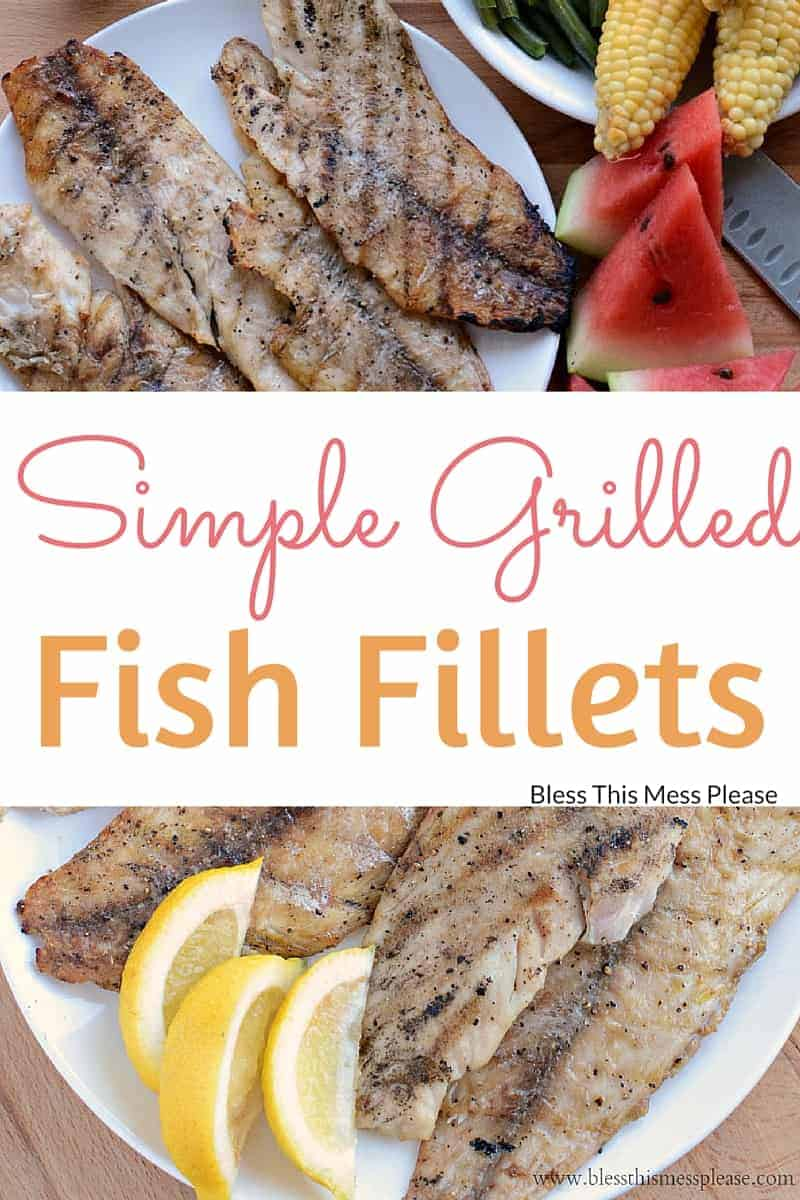 Grilled Fish Fillets
