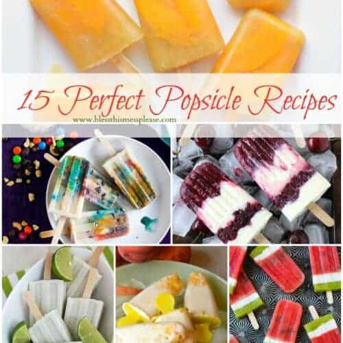 15 Perfect Popsicle Recipes