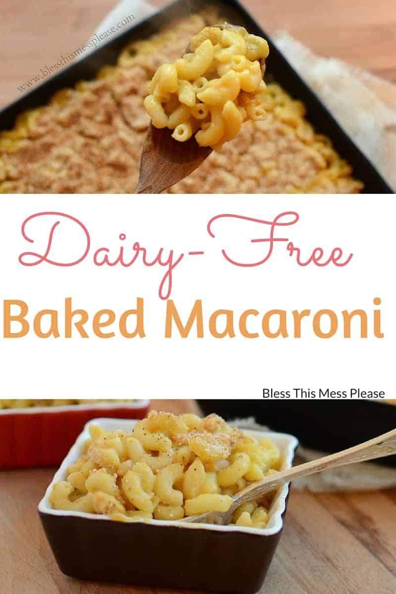 Image of Dairy-Free Baked Macaroni