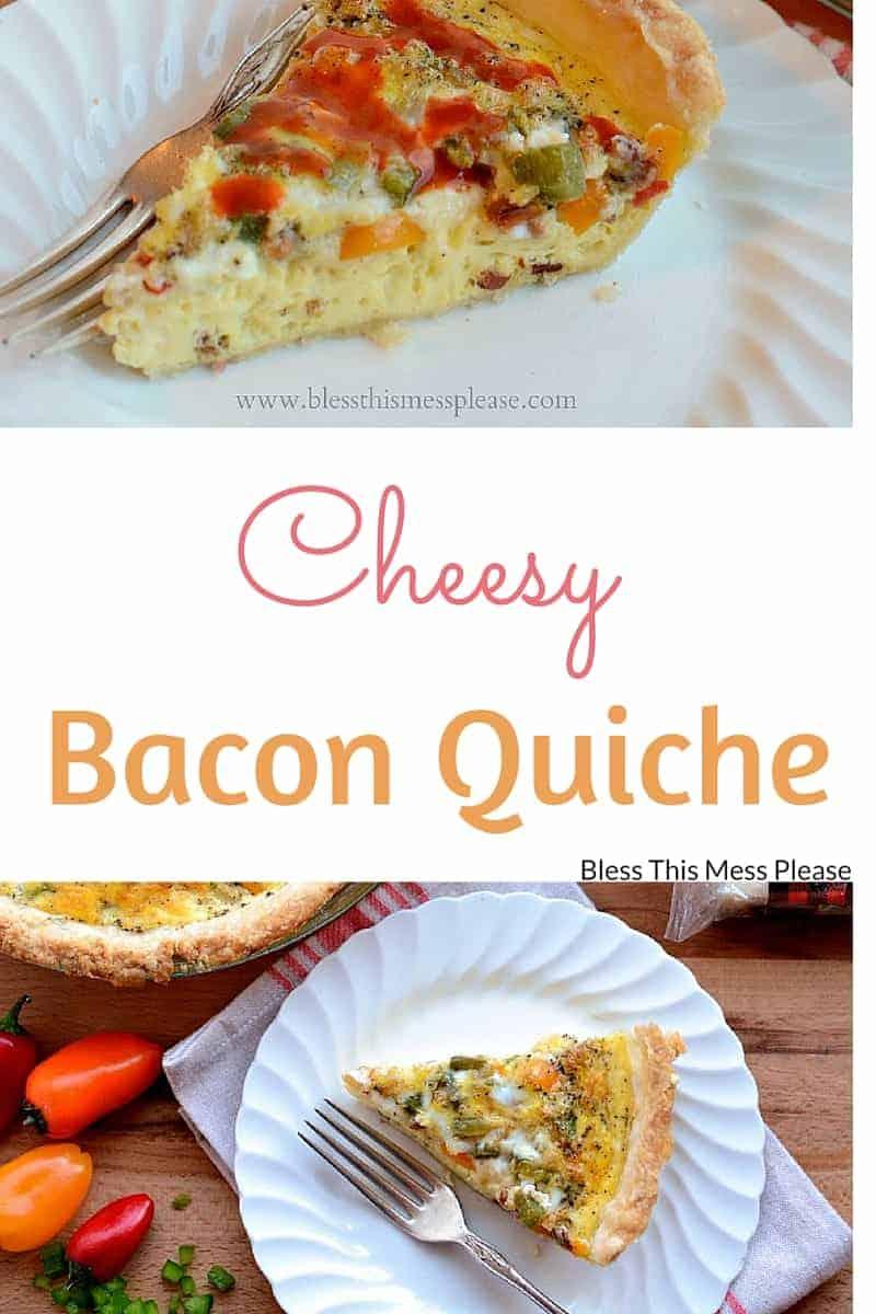 Cheesy Bacon Quiche