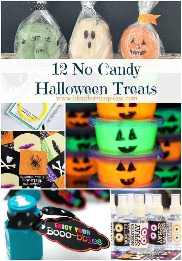 12 Non-candy Halloween Treats