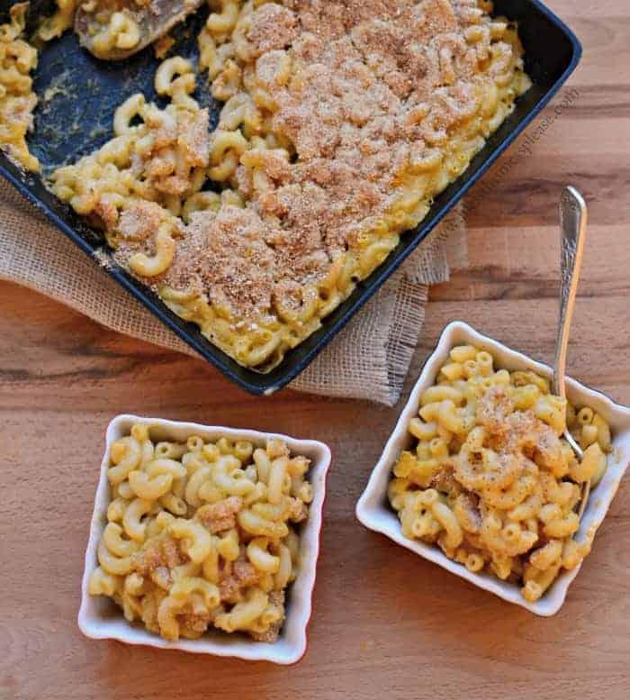 Image of Meatless Monday Baked Macaroni