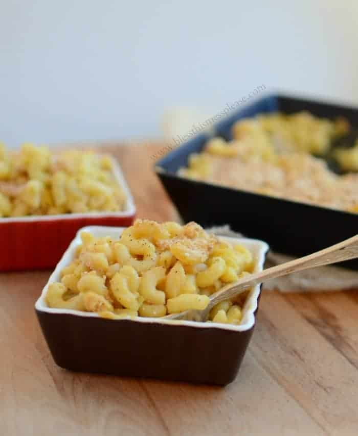 Image of a Bowl of Meatless Monday Baked Macaroni
