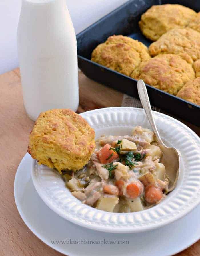 slow cooker chicken pot pie1