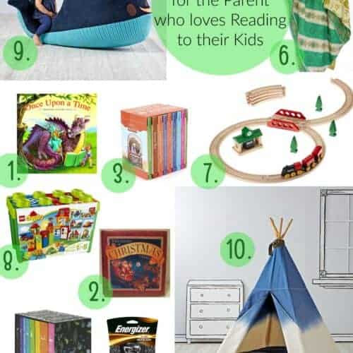 Gift Guide for The Parent Who Loves Reading to Their Kids