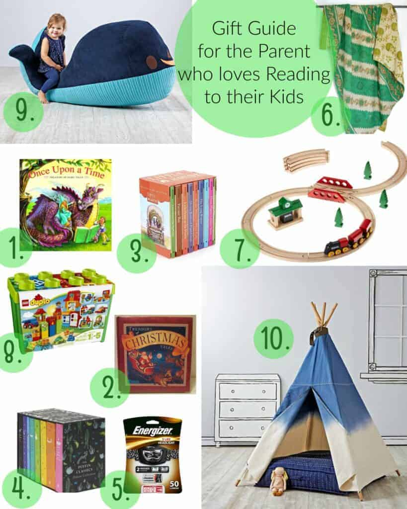 Gift Guide for the Parent who loves Reading to their Kid(s)