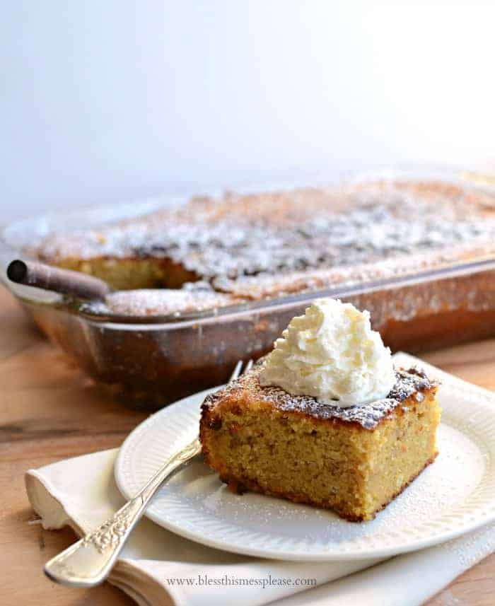 Image of Extra Thick Pumpkin Cake
