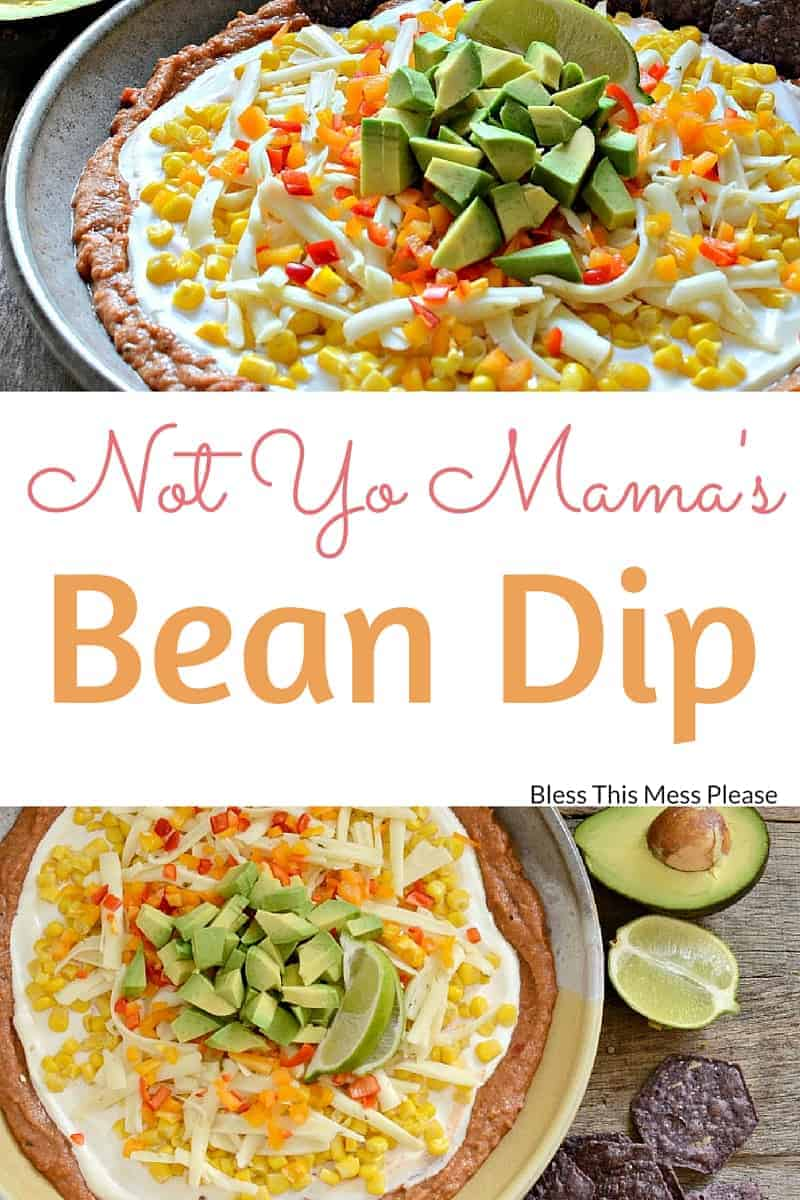 Not Yo Mamas Bean Dip