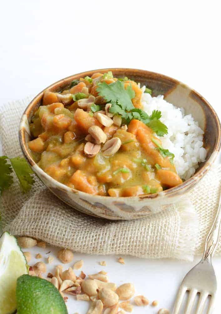 Quick and Easy Sweet Potato Curry recipe (my favorite meatless meal)