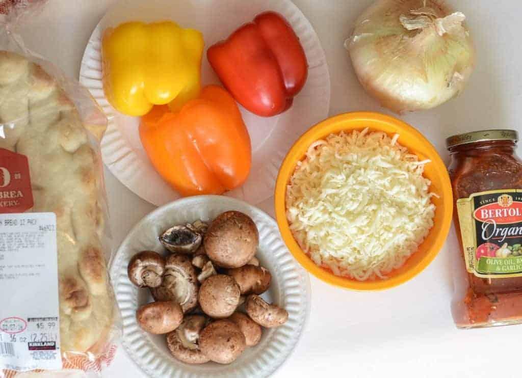 Flatbread Pizzas - Ingredients
