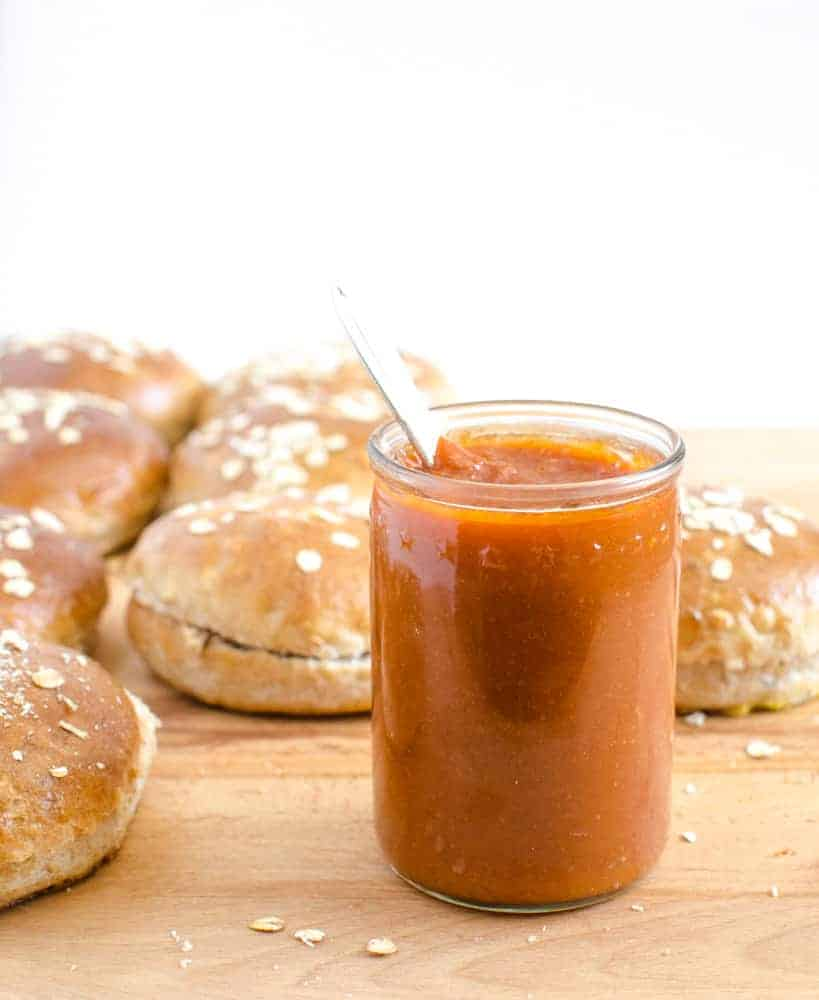 Simple 30 Minute Barbecue Sauce Recipe (perfect on pulled pork!)