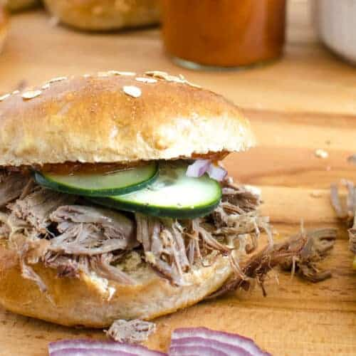 The Ultimate Pulled Pork Sandwich