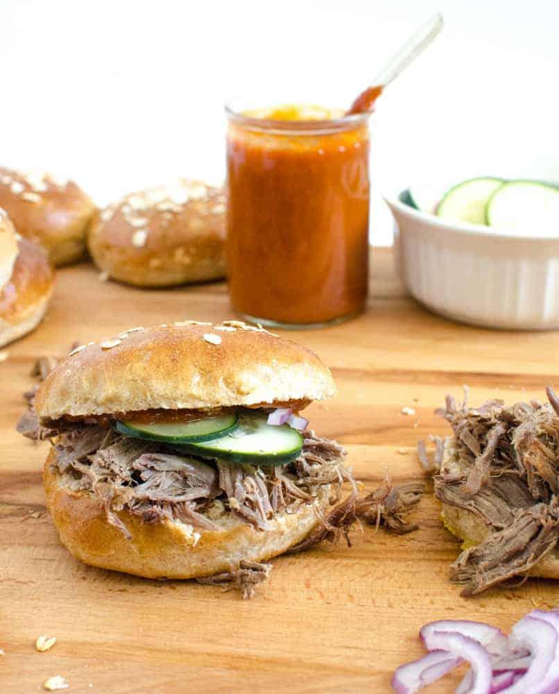 Ultimate Pulled Pork Sandwich