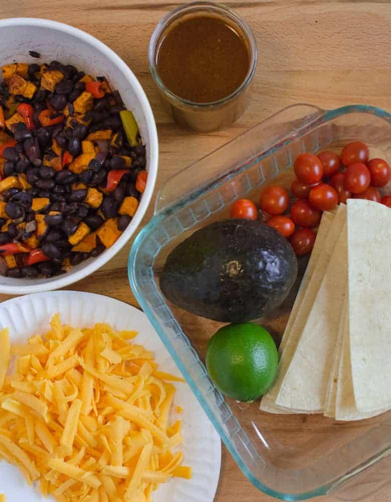 Enchilada Bake - Ingredients