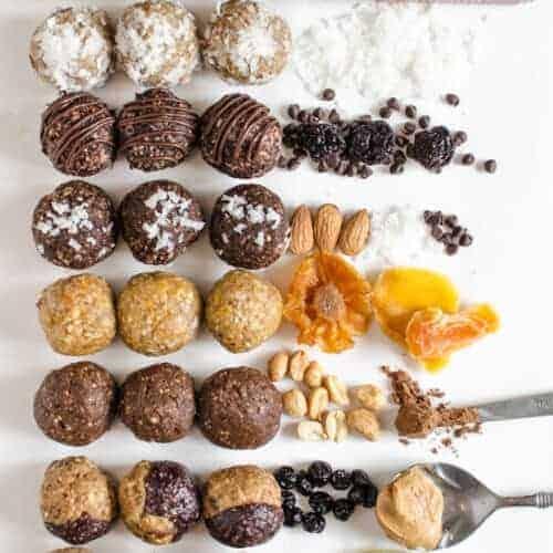 9 Date Energy Balls Recipes