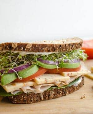 Image of turkey sandwich