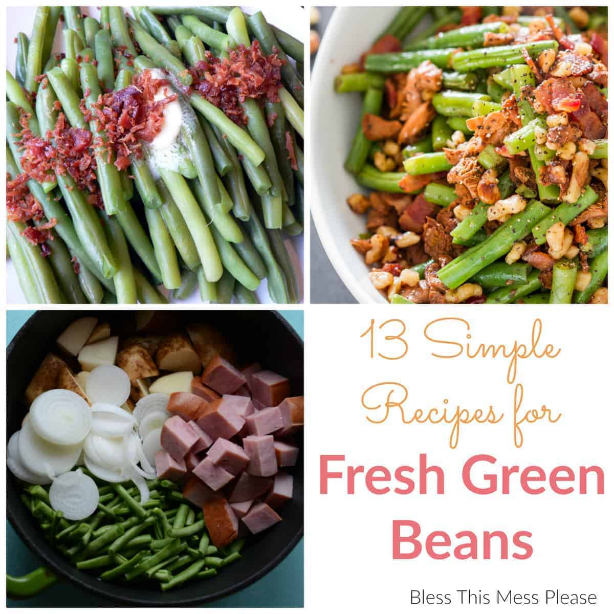 Title Image for 13 Easy Green Bean Recipes