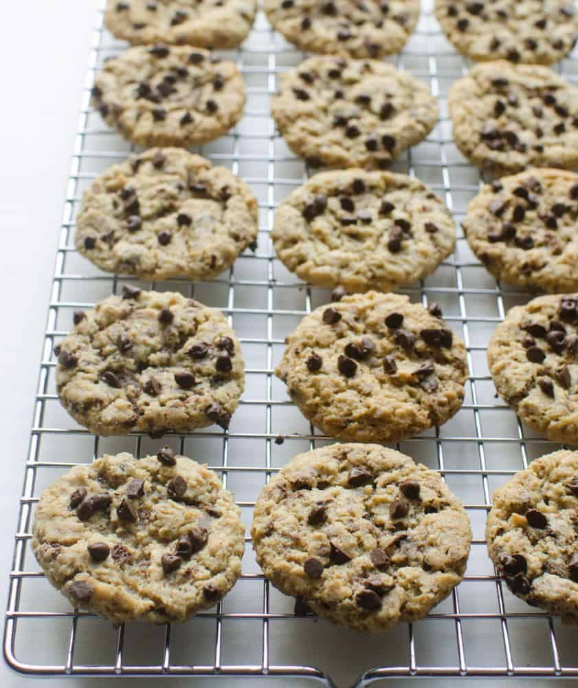 The famous Neaman Marcus Cookie recipe made with ground oats, butter, and mini chocolate chips, is sure to be a family favorite in no time.