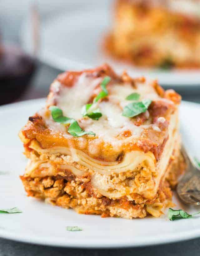 Slow Cooker Turkey Lasagna