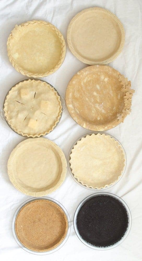 This is your ULTIMATEguide to making a perfect pie crust! It has 4 great recipes - traditional, whole wheat, graham cracker & chocolate cookie crusts.