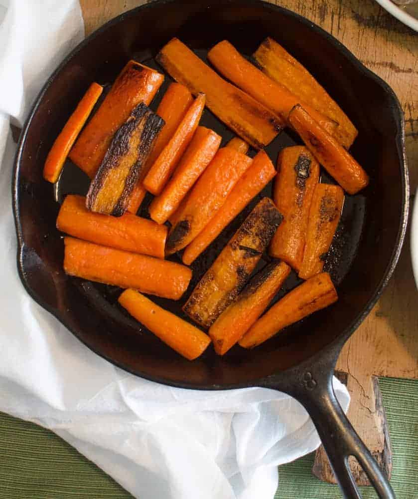 Five ingredient sides will save you time on Thanksgiving - and there are 8 easy recipes for them here! Bonus: everything is easily made vegan/gluten-free