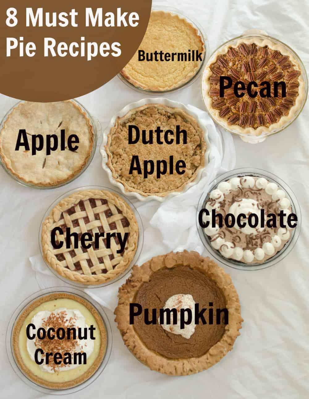 8 Must-Make Pies
