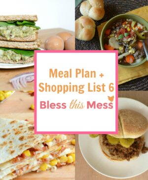 Free Healthy Meal Plan