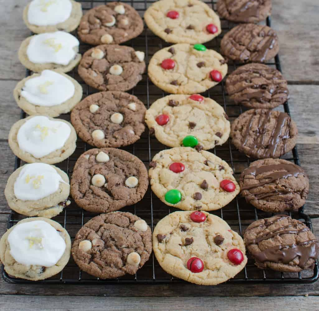 4 Christmas Cookies
