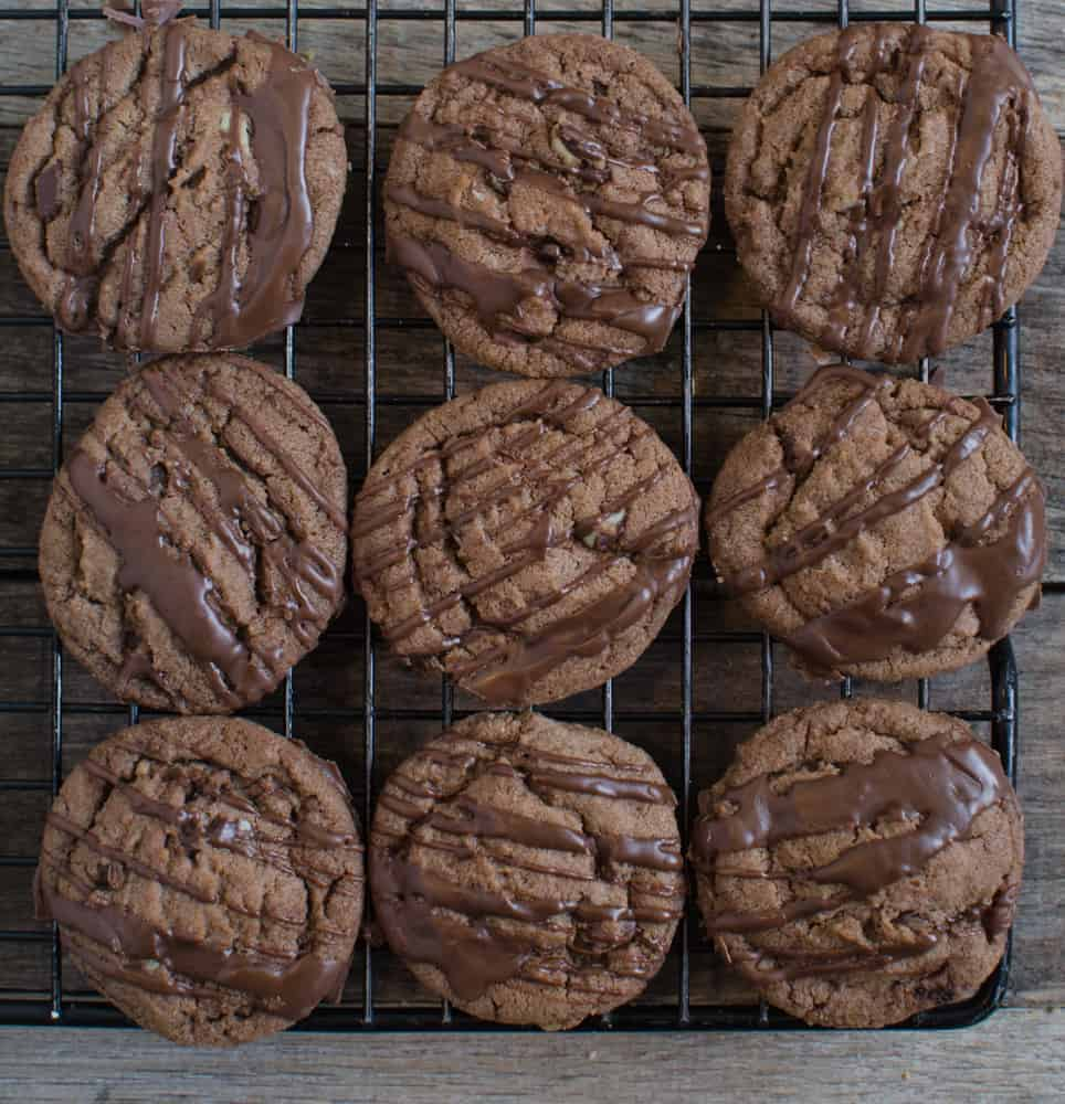 Christmas Cookies - Chocolate Mint Cookies