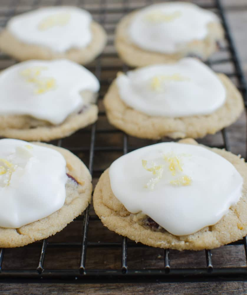 Christmas Cookies - Orange Cranberry Cookies