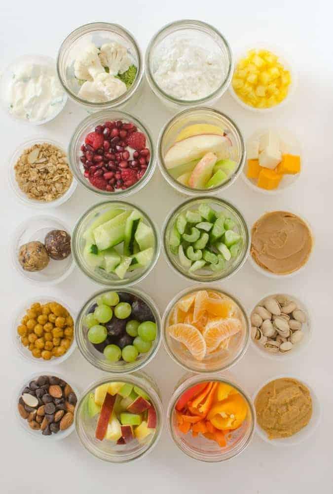 Image of 10 Healthy Snacks in Jars
