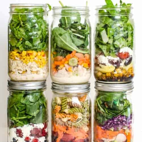 6 Simple Salad in a Jar Recipes
