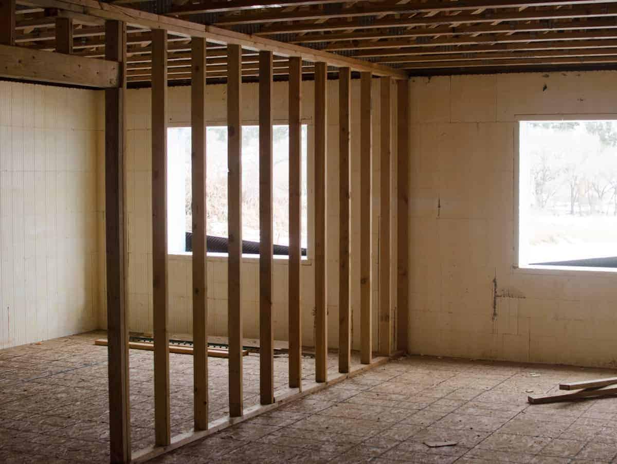 More basement walls!