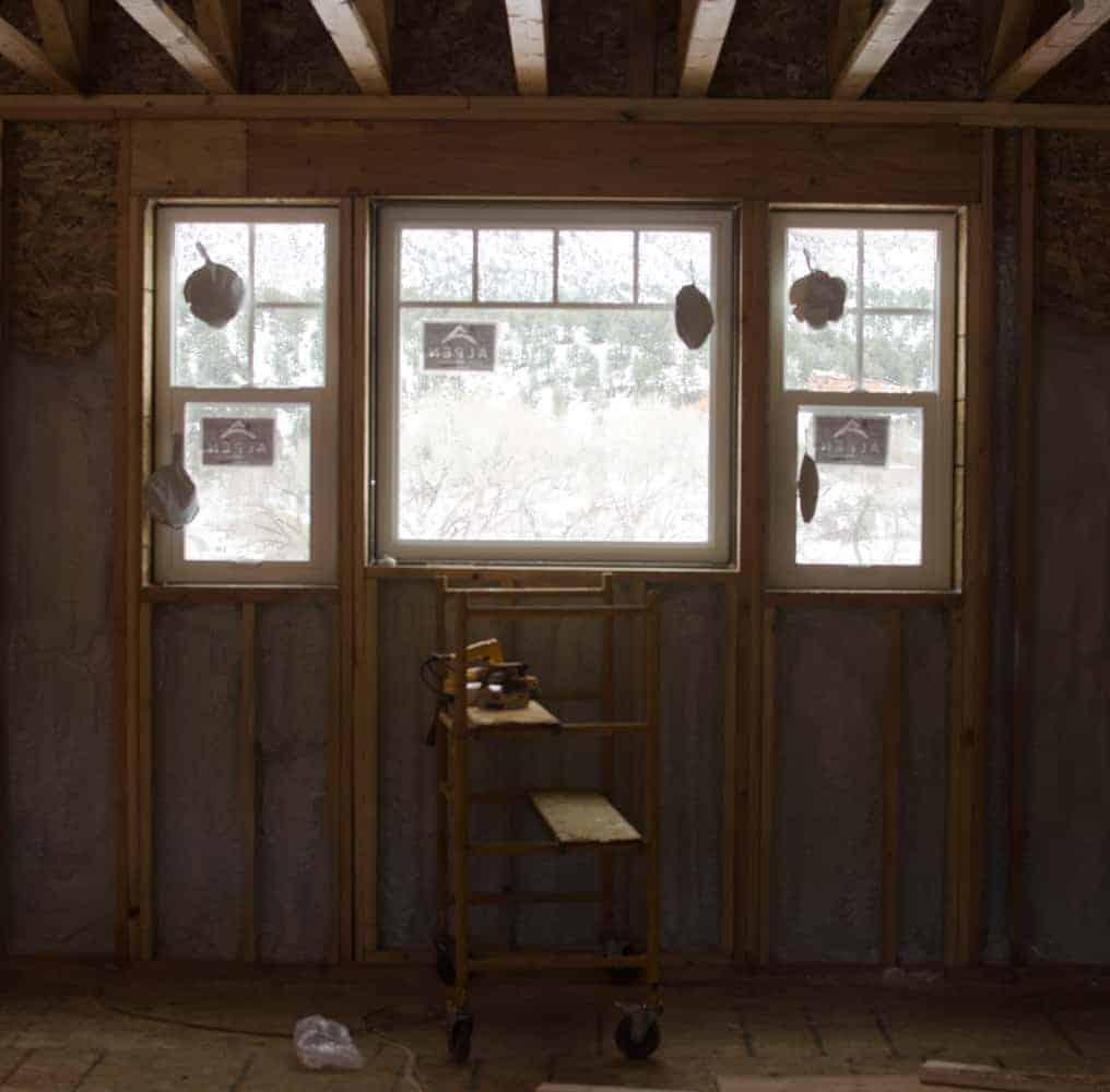 Energy Efficient Windows - Kitchen