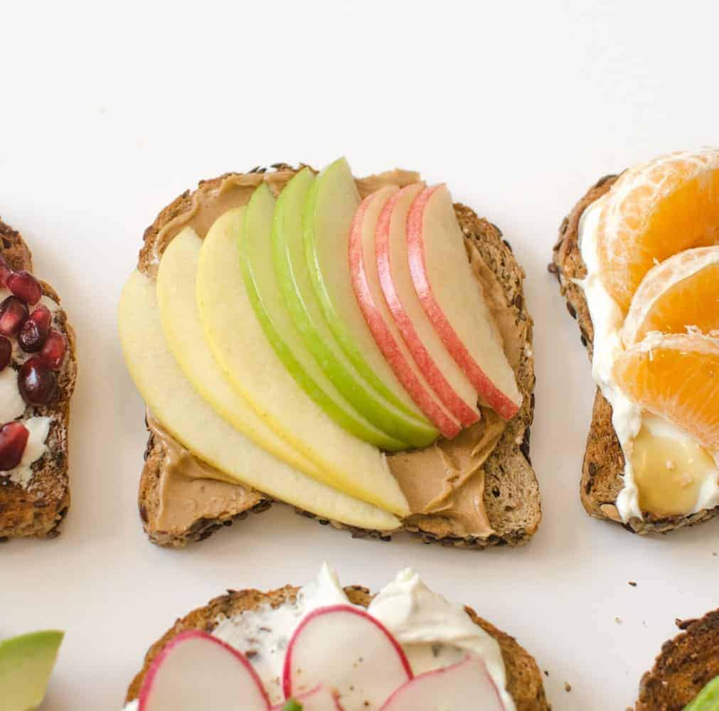 Healthy Toasts - Peanut Butter Classic Toast