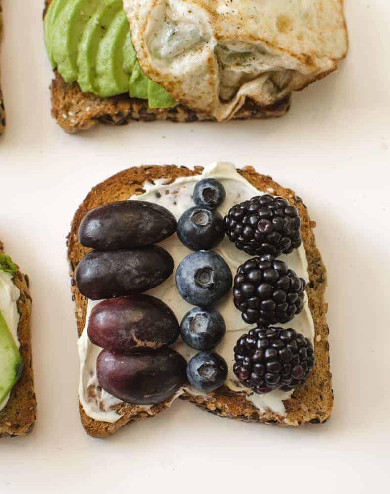 Healthy Toasts - Purple Toast