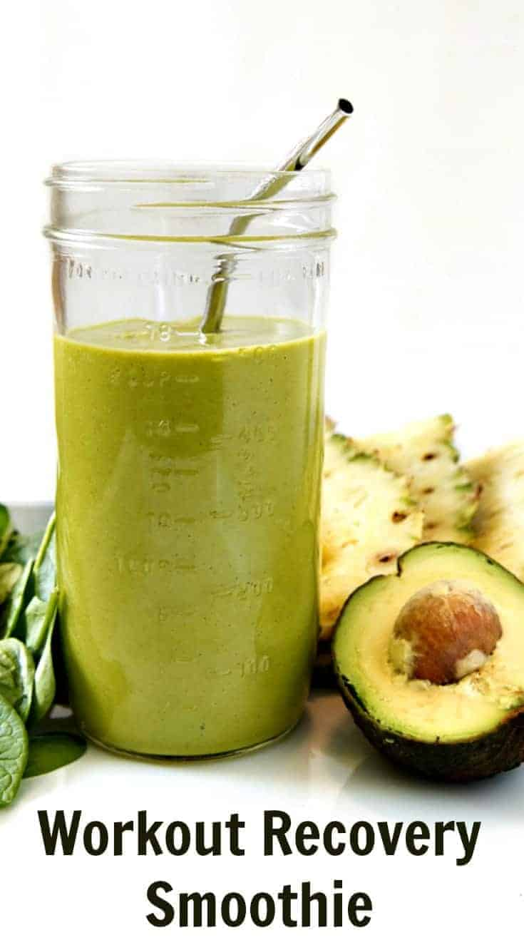 The best workout recovery smoothie to help reduce inflammation, build muscle, and feel your best! And the best part? This recovery smoothie is delicious!