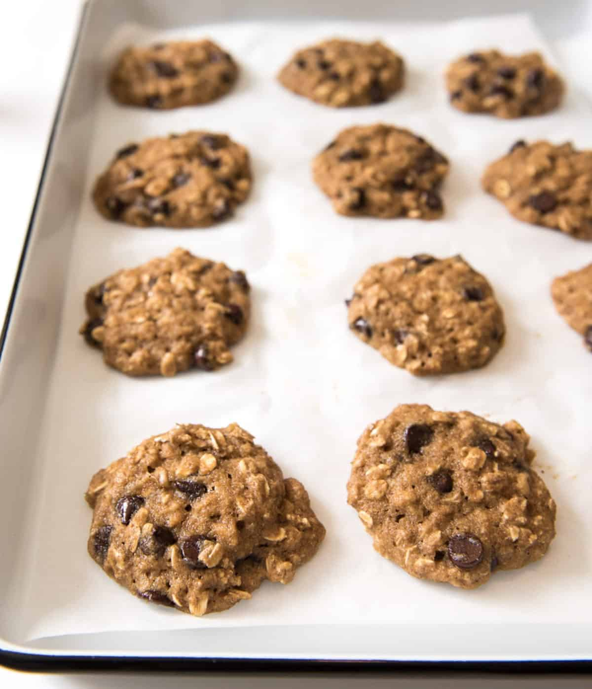This Healthy Applesauce Cookie recipe is delicious & easy! Your kids can help you make & devour the cookies! They're great for a busy morning breakfast too.