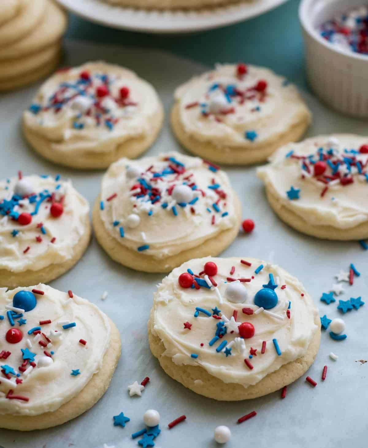 Image of The Best 4th of July Cookies on the Block