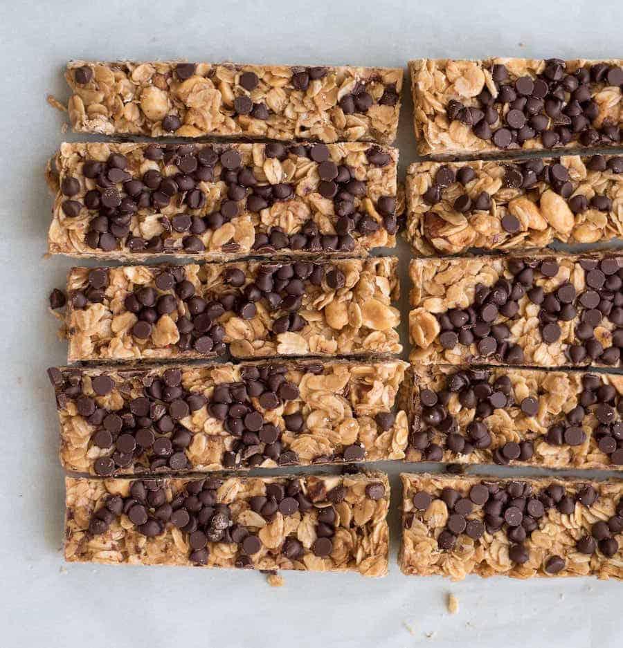 Best Homemade Chocolate Chip Granola Bar Recipe