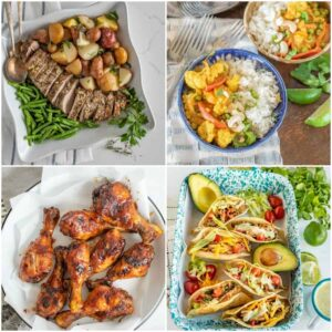 2 Week Meal Plan for the Whole Family: Fall/Winter Menu
