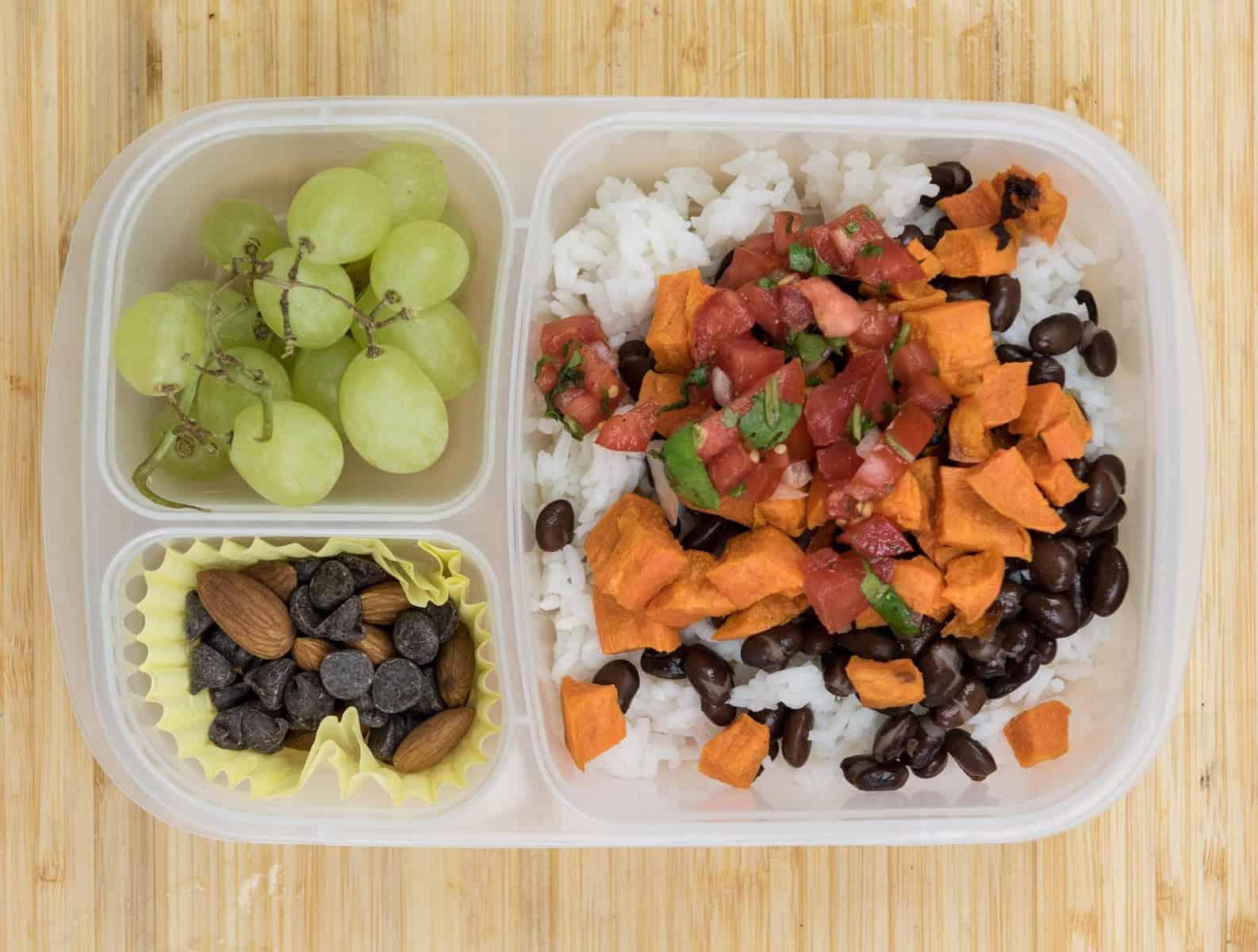 Lunch Box Ideas - Burrito Bowl Lunch Box