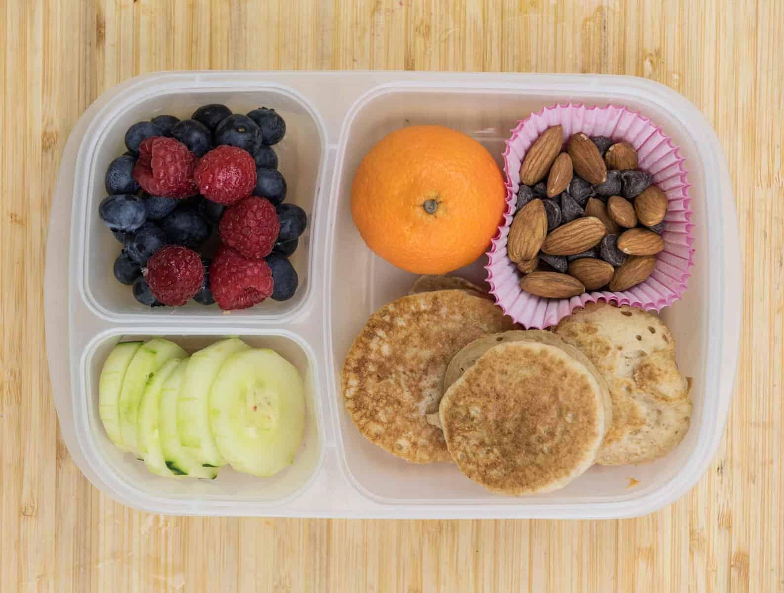 Lunch Box Ideas - Pancake Sandwich Lunch Box