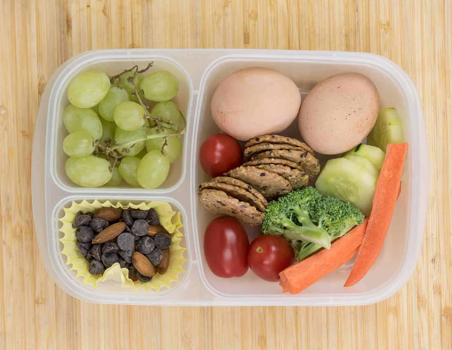 Lunch Box Ideas - Boiled Egg Lunch Box