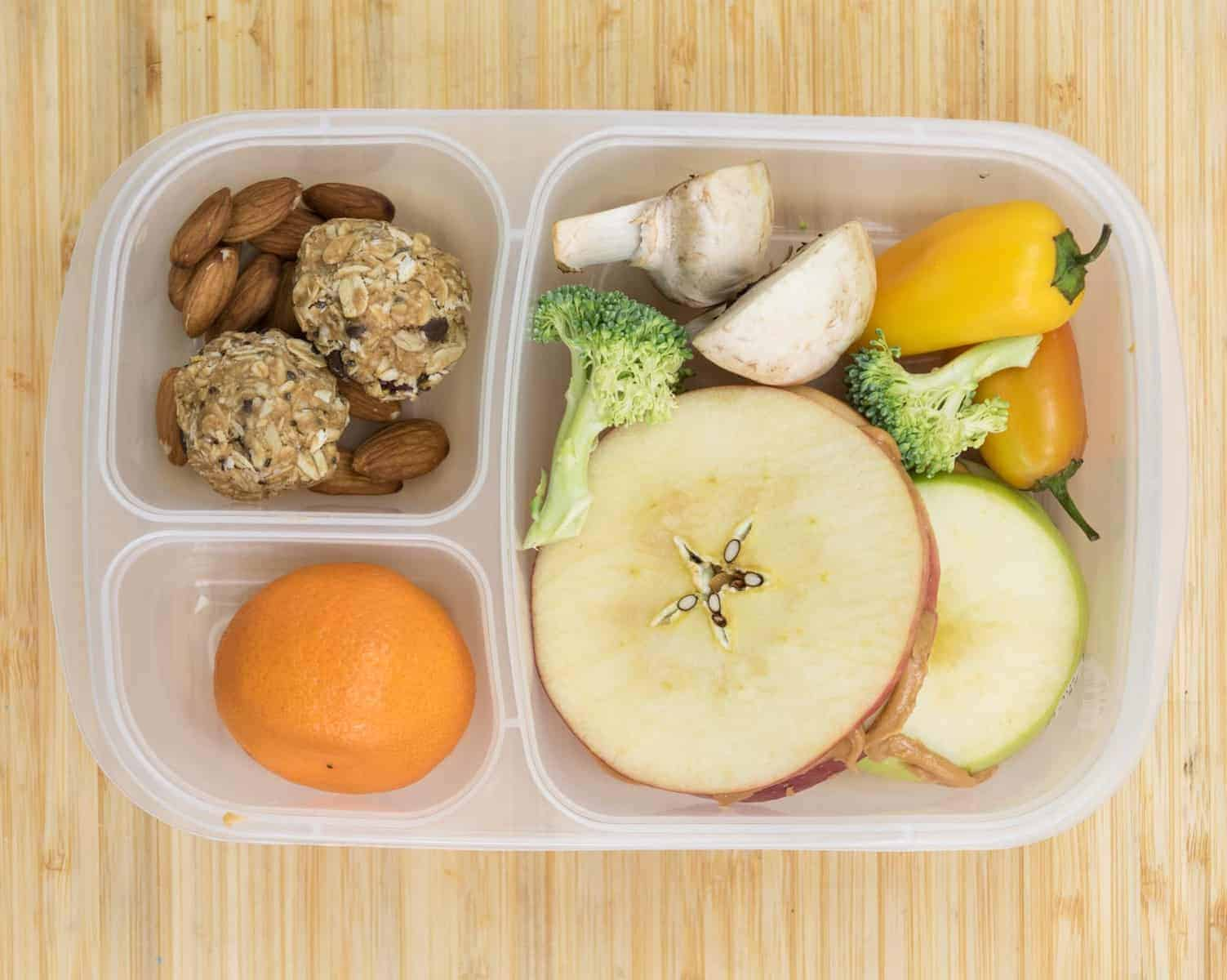 Lunch Box Ideas - Apple Sandwich Lunch Box