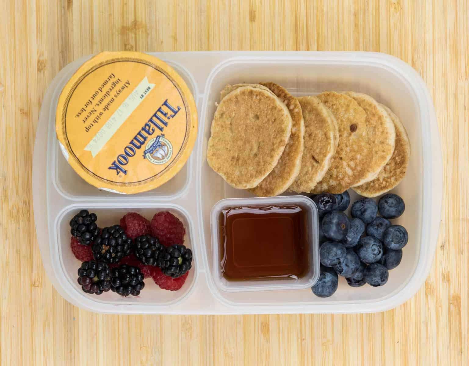 Lunch Box Ideas - Breakfast for Lunch Box