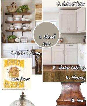 Farmhouse Inspiration - Kitchen Image