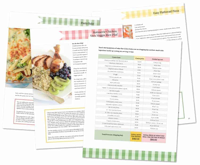 My newest eBook - 10 Healthy Dinners from Costco for Less Than $100!